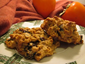 Persimmon Drop Cookies