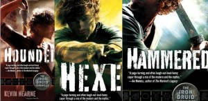 Hounded, Hexed, and Hammered by Kevin Hearne.