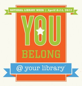 National Library Week 2012 icon