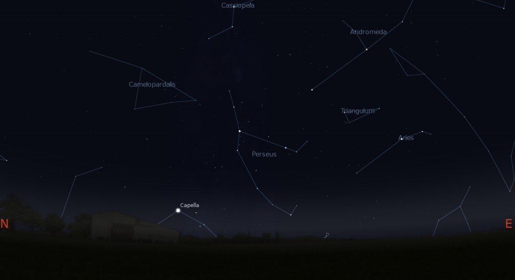 Constellation Perseus