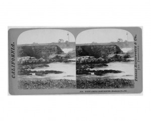 Point Arena Light House stereograph from the Library of Congress