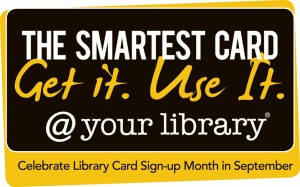 library card sign-up month image from ALA