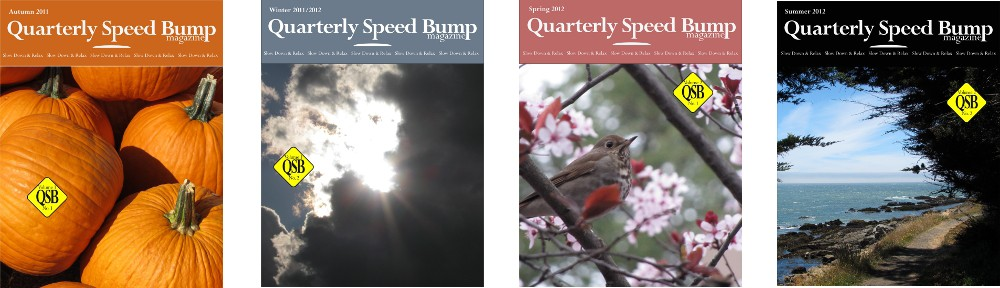 Quarterly Speed Bump Magazine